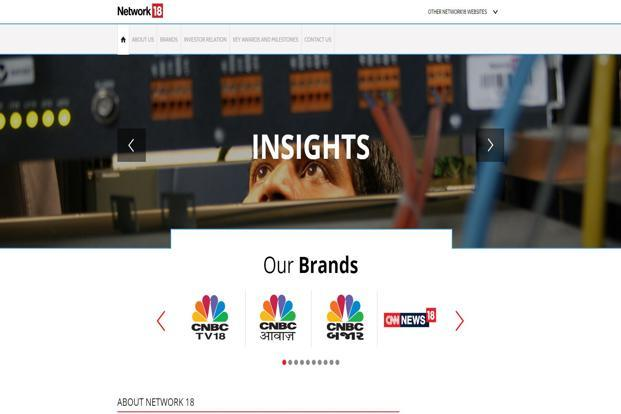 Revenue from Network18 subsidiary TV18 Broadcast Ltd, the company's television and motion pictures business that also operates news channels CNN-News18 and CNBC TV18, rose 8.8% to Rs277.3 crore from Rs254.7 crore.