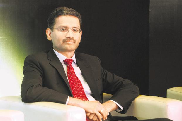 TCS CEO Rajesh Gopinathan. M&G Prudential is the third large outsourcing contract won by Tata consultancy Services in less than a month after $2 billion-plus deals with Transamerica and Nielsen. Photo: Hemant Mishra/Mint