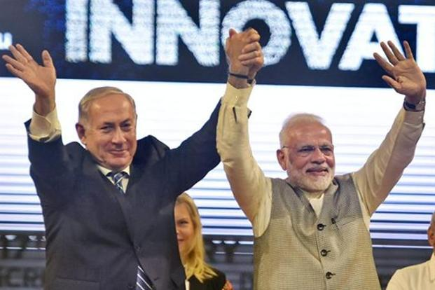 Israel PM Netanyahu meets biz leaders in Mumbai