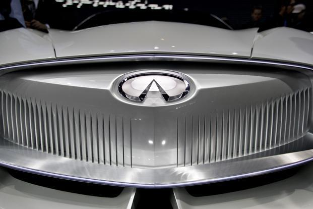 Nissan plans to transform its upscale Infiniti brand into a primarily electrified vehicle offering. Photo: Bloomberg