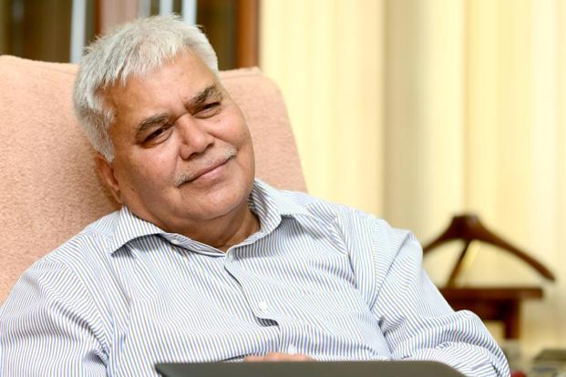 Trai chairman R.S. Sharma who has called a meeting of telecom companies in the backdrop of financial difficulties being faced by the industry, which has seen its revenue and profitability come under pressure in the wake of intense competition in the market. Photo: Ramesh Pathania/Mint