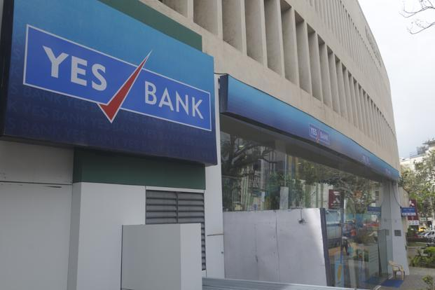 Shares of Yes Bank fell 0.66% to Rs340.25 on BSE, while the exchange's  benchmark Sensex rose 0.51% to 35,260.29 points. Photo: Mint
