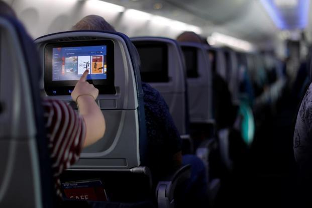 Trai says that internet services through Wi-Fi on flights should be made available when electronic devices are permitted to be used only in-flight or airplane mode. Photo: Reuters
