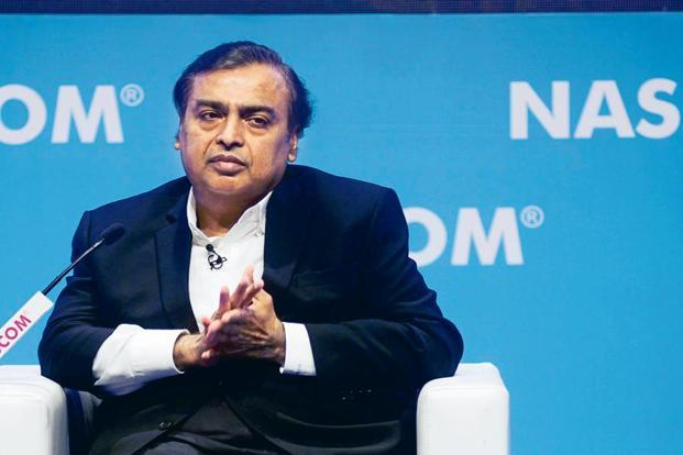 Reliance Industries chairman Mukesh Ambani. Without the savings accruing from the IUC cut, Reliance Industries's profit in Q3 would have grown by just 4.8% sequentially. Photo: Abhijit Bhatlekar/Mint