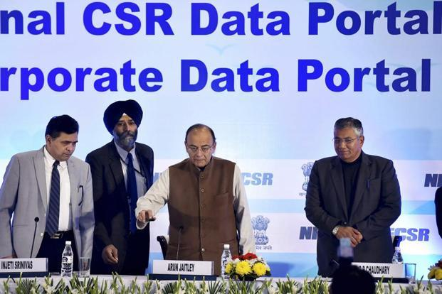 Hindi Current Affairs,Hindi Current Affairs 21th January 2018,Current Affairs 21th January 2018,Hindi Current Affairs Image result for Arun Jaitley Launches National CSR Data Portal & Corporate Data Portal