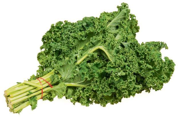 Kale has a cabbage-like flavour.