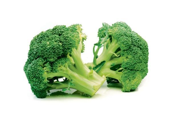 Broccoli is rich in vitamins A, C and K.
