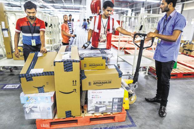 Under Prime, Amazon offers fast delivery, additional discounts and video streaming to customers. Photo: Bloomberg