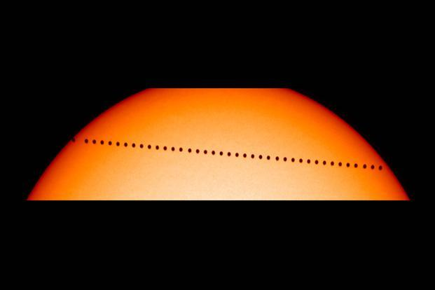Changes in Mercury's orbit unveil ageing Sun