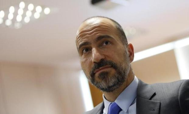 Uber CEO Dara Khosrowshahi. Uber plans to expand to more cities in Germany this year, but will do so more carefully and in dialogue with governments, companies and the local taxi industry after it entered the market too aggressively. Photo: Reuters