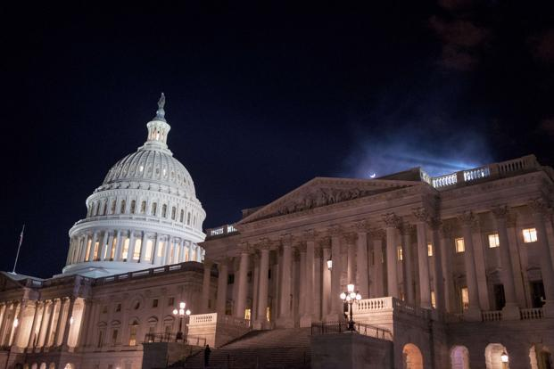 US Senate breaks logjam, moves closer to ending federal shutdown
