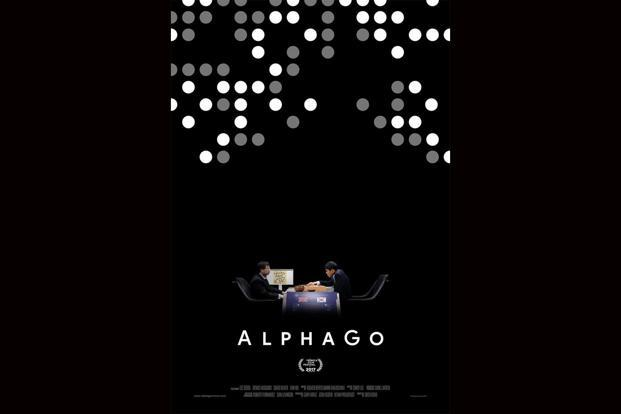 A poster for the documentary 'AlphaGo' released on Netflix earlier this month.