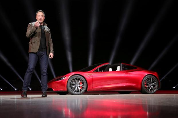 Elon Musk said in June that Tesla is in discussions with the government of India requesting temporary relief on import penalties or restrictions until a local factory is built. Photo: Reuters