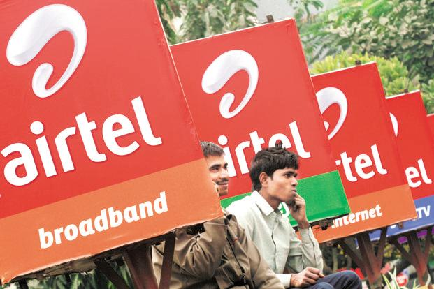 Bharti Airtel shares declined as much as 6.22% to Rs461.5 on Wednesday, their lowest since 18 October 2017. Photo: Reuters