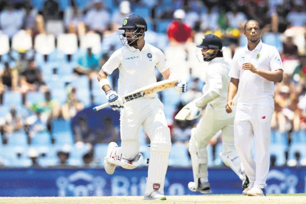 K. L. Rahul scored 10 and 4 in the second Test vs South Africa. Photo: AP
