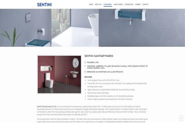 After the acquisition, Sentini Sanitarywares, a unit of the Rs1,300 crore Sentini Group, will be renamed Lixil India Sanitarywares Pvt. Ltd.