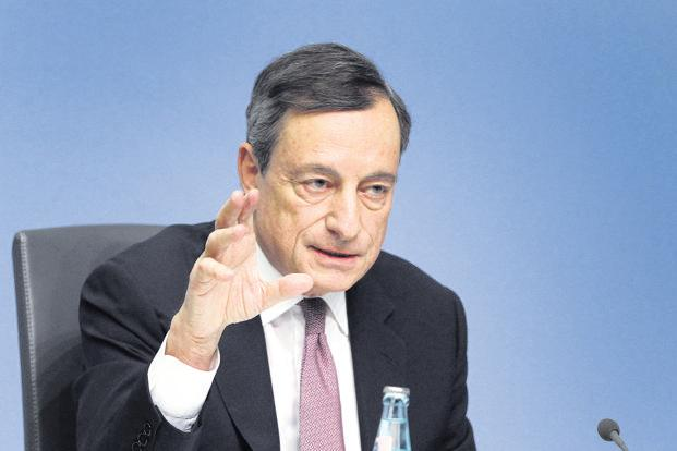 ECB's Mario Draghi anxious about euro strength