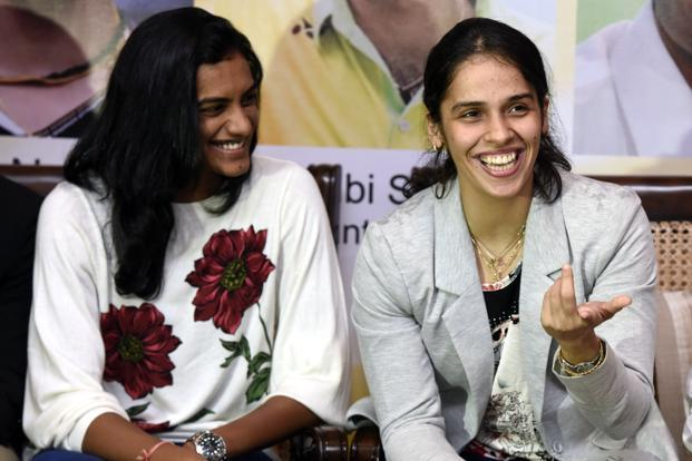 Saina Nehwal and P. V. Sindhu will meet in an all-Indian quarterfinal clash after both won their respective preliminary matches at the $350,000 Indonesia Masters, adding another chapter to their new rivalry. Photo: Hindustan Times
