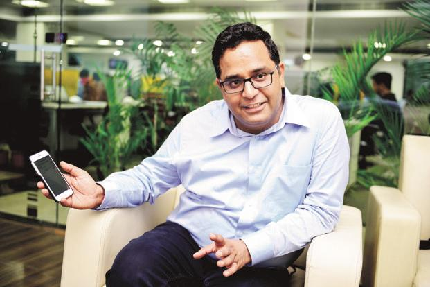 Paytm and One97 Communications founder Vijay Shekhar Sharma sold 1% of his stake in the company for a cool Rs325 crore, thus valuing it above Rs32,000 crore. Photo: Pradeep Gaur/Mint