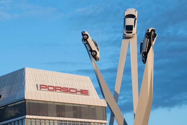 Porsche is the most profitable brand of Volkswagen AG and is seeking to protect its industry-leading margins even as spending surges for development of electric vehicles and digital services. Photo: AFP