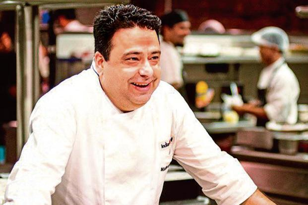 Manish Mehrotra at Indian Accent London in Mayfair.
