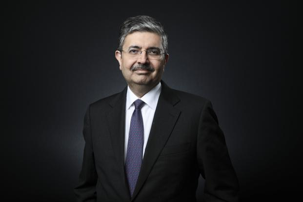 Uday Kotak said the micro trends are now the best in what he has seen in the past three years but that does not mean equity markets are also all fine. Photo: Bloomberg