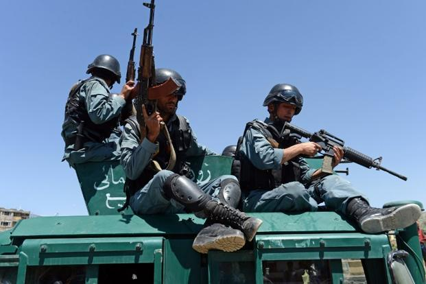 The Taliban claimed the attack, which spokesman Zabihullah Mujahed said on Twitter killed 80 police recruits. Photo: AFP