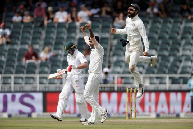 Although India had already lost the series, Virat Kohli's team avoided a first series whitewash in six years and left the series 2-1 in South Africa's favour. Photo: AFP