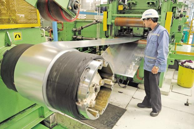 Major cutback in China's steel production capacity has led to rising global prices of steel, mainly post June 2017, says the Economic Survey. Photo: Mint