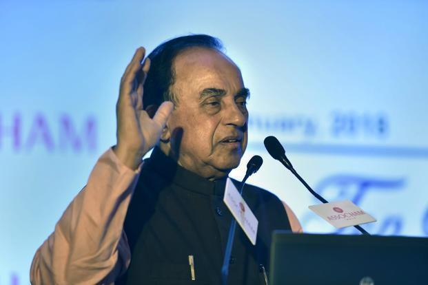 Subramanian Swamy instructed to justify plea for SIT probe — Sunanda case