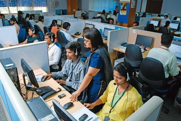 Shares of TeamLease Services closed at Rs2,284.80, up 1.24% on BSE. Photo: Hemant Mishra/Mint