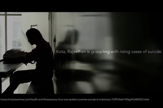 A screenshot from the ad campaign. Horlicks ad has brought to the fore crucial mental health issues and the mounting examination pressure which often leads to fear of failure, stress, depression and suicides among students.