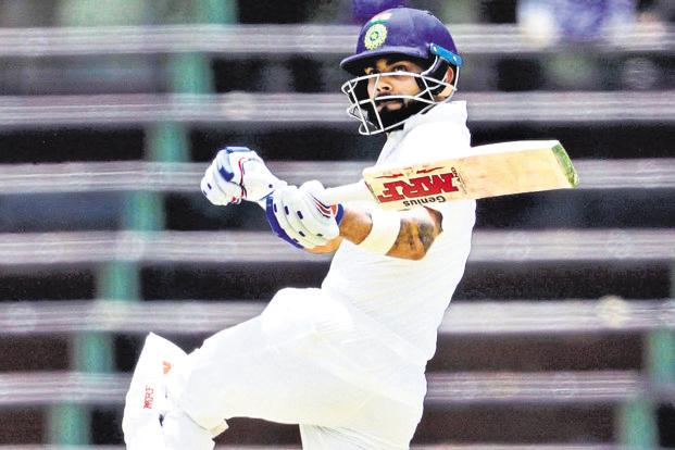 Virat Kohli was the highest scorer in the Test series vs South Africa with 286 runs. Photo: AP