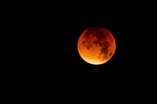 watch supermoon blue moon total lunar eclipse today evening livemint