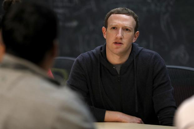 Mark Zuckerberg, founder and chief executive, Facebook. Even with more than 2 billion monthly users, Facebook has become thirstier for posts. Photo: Bloomberg