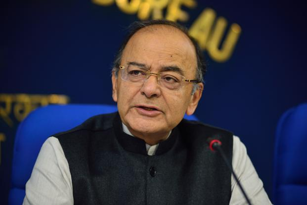 Finance minister Arun Jaitley urges concerned regulators to consider moving from 'AA' to 'A' grade ratings for investments. Photo: Pradeep Gaur/Mint