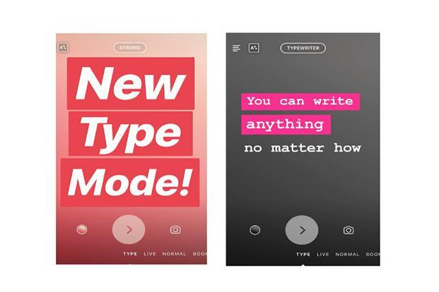 Instagram has added a new feature called Type Mode, which allows users to add slides in Stories with just text in them.