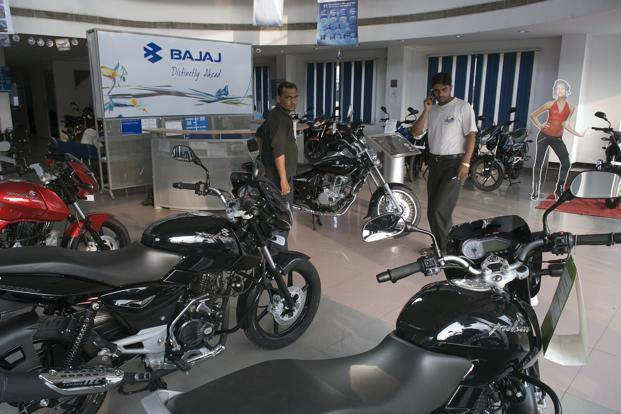 Bajaj Auto's Ebitda margin narrowed to 20.6% in the December quarter from 22% a year ago. Photo: Mint