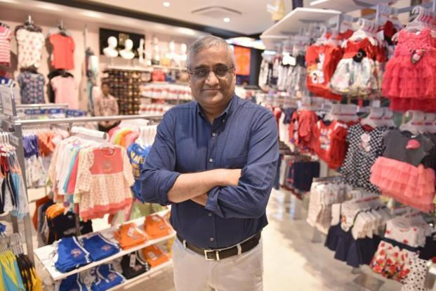A file photo of Future Group CEO Kishore Biyani. Shares of FLFL closed 6.39% lower at Rs355.25 apiece on the BSE. Photo: Indranil Bhoumik/Mint