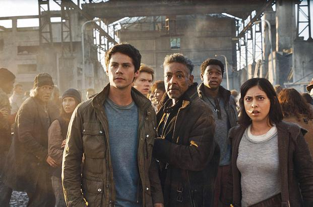A still from 'Maze Runner: The Death Cure'.