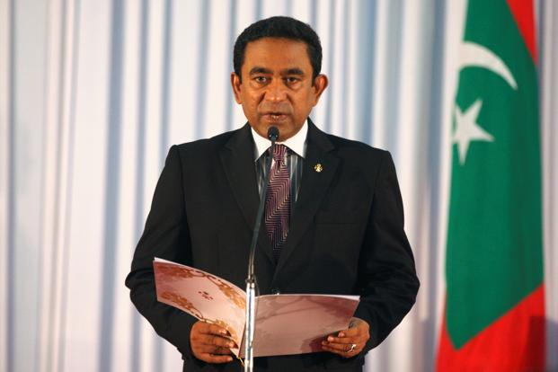 On Thursday—in a move that surprised many—judges ordered authorities to release nine political dissidents and restore the seats of 12 legislators who had been sacked for defecting from Yameen's party, ruling the cases were politically motivated. File photo: Reuters