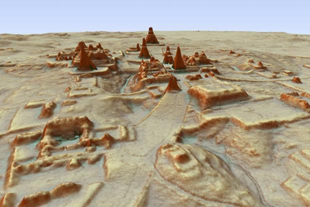 Lasers reveal Mayan civilization of 'unimaginable scale'