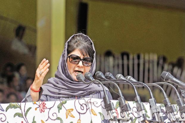 Jammu and Kashmir CM  Mehbooba Mufti said Indian Army is the 'most disciplined' force in the world. Photo: Hindustan Times