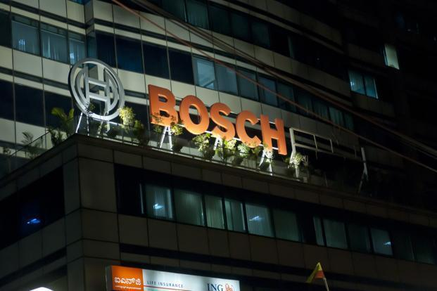 Bosch's stock closed 3.29% up at Rs19,980 apiece on BSE on Monday. Photo: Aniruddha Chowdhury/ Mint