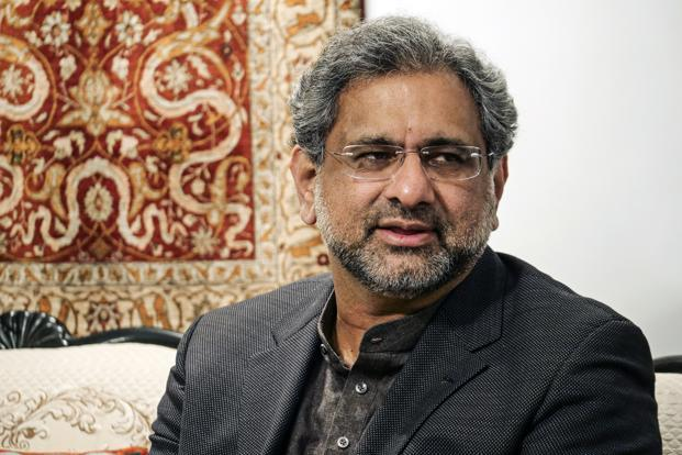Pakistan Prime Minister Shahid Khaqan Abbasi expressed solidarity with the people of occupied Kashmir on the occasion of Kashmir Solidarity Day. Photo: Bloomberg