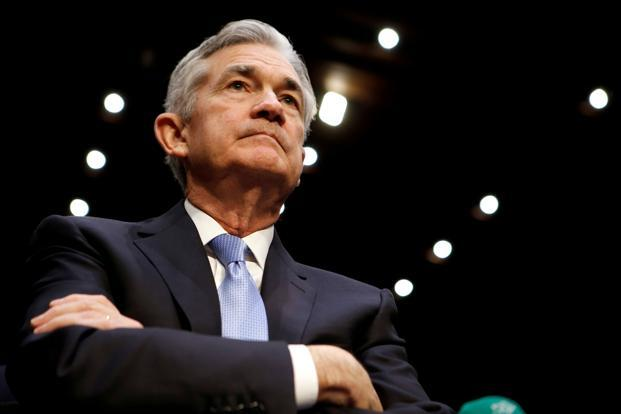 A file photo of US Fed chairman Jerome Powell. Photo: Reuters