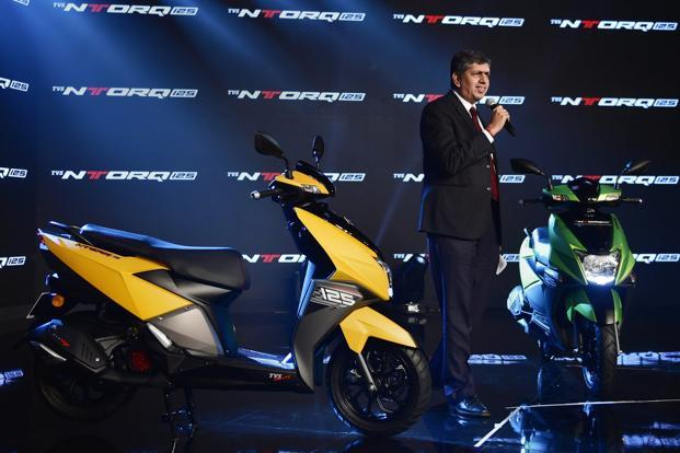 TVS launches 125cc scooter NTORQ 125