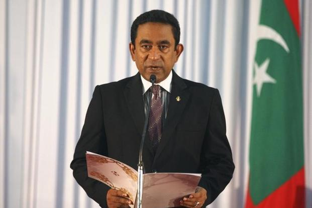 The crisis is seen as the biggest threat to President Abdulla Yameen's control over the Maldives since he took power in 2013. Photo: Reuters