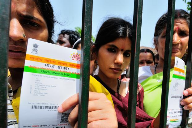 File photo. According to UIDAI, the Aadhaar letter sent by it, a cutaway portion or downloaded versions of Aadhaar on ordinary paper or mAadhaar are perfectly valid. Photo: Priyanka Parashar/Mint
