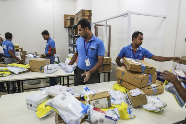 For some others, including online marketplace Flipkart, India's most valuable start-up, revenue growth slowed. Photo: Bloomberg